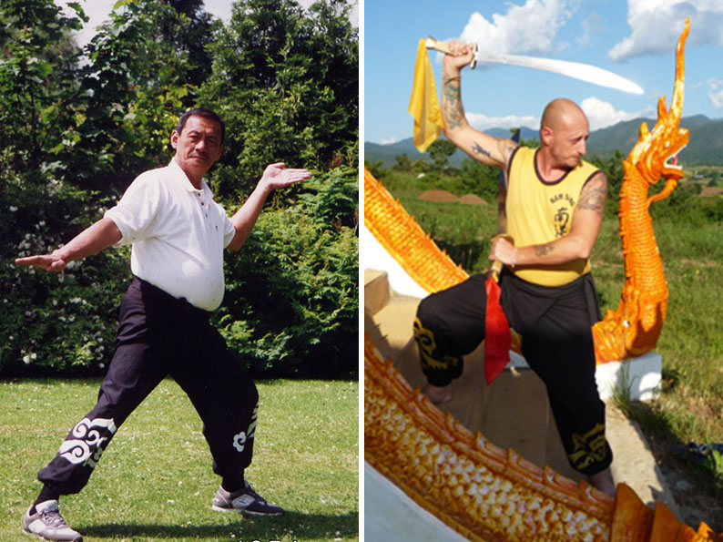 FAMOUS KUNG FU MASTERS